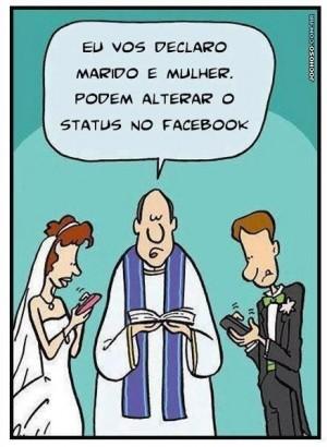 casamento status facebook